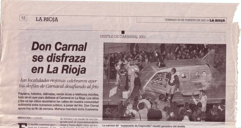 Carnaval 2001. Artículo La Rioja.1