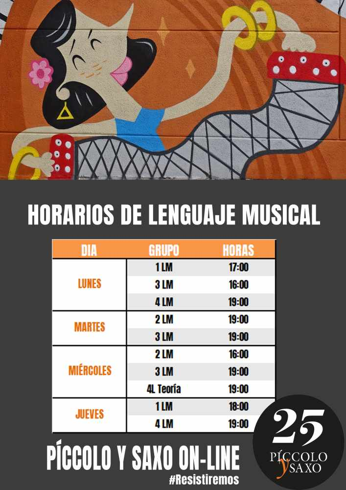 HORARIOS on line LM OK1 WEB